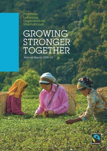 Annual report 2009-2010 - Fairtrade International