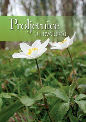 Proljetnice u Hrvatskoj brošura - Državni zavod za zaštitu prirode