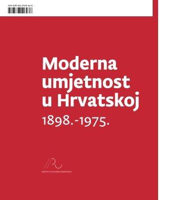Moderna umjetnost u Hrvatskoj - Institut za povijest umjetnosti