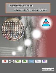 download vol 5, no 3&4, year 2012 - IARIA Journals