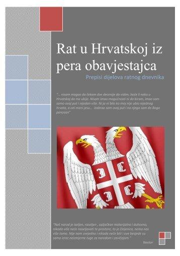 Rat u Hrvatskoj iz pera obavjestajca - KrajinaForce