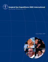 2004 Annual Report - (SEE) International