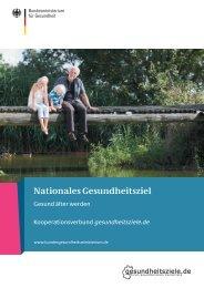 Nationales Gesundheitsziel - Gesund älter werden - AOK-Leonardo