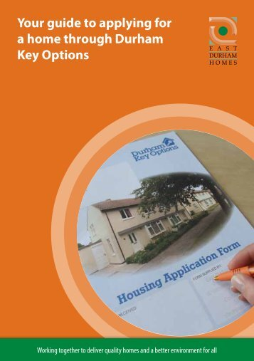 Your guide to applying for a home through Durham Key Options [PDF]
