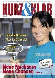 kurz & klar (Mitarbeitermagazin) März 2007 (Ausgabe Wien