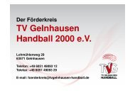 TV Gelnhausen Handball 2000 e.V.