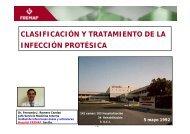 clasificación y tratamiento de la infección protésica - Aymon