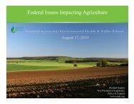 Washington Perspectives - National Agronomic Environmental ...