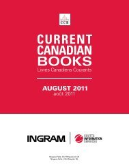 Current Canadian Books - August 2011 - OASIS Help Portal