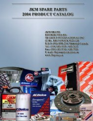 automotive spare parts products - SMC