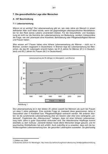 7-1-2 Gesundheitliche Lage.pdf - Die Senatorin für Soziales, Kinder ...
