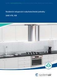 Rezidenční rekuperační vzduchotechnické jednotky ... - Systemair