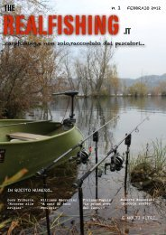 copertina rivista - theREALFISHING.it