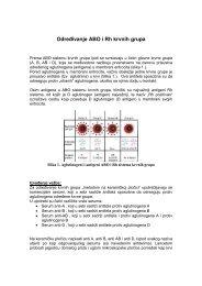 Određivanje ABO i Rh krvnih grupa