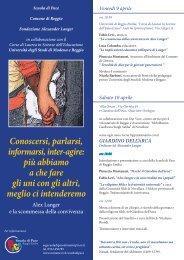 il tema della convivenza - Fondazione | Alexander Langer | Stiftung