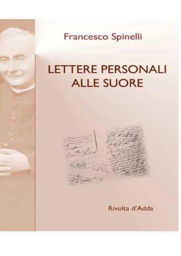 LETTERE PERSONALI DON FRANCESCO ... - Suore Adoratrici