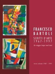 Volume 3 - MAC Francesco Bartoli