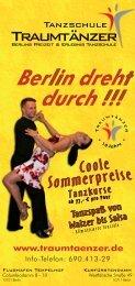 Tanzschule Traumtänzer Programm