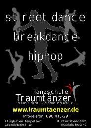 Tanzschule Traumtänzer Tanzkurse in Berlin www.traumtaenzer.de