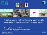 Präsentation mit Beispielen - Michelstadt