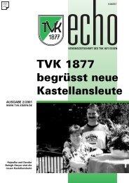 TVK-Echo 2/2001 - Turnverein 1877 eV Essen-Kupferdreh