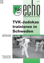 TVK-Echo 4/2002 - Turnverein 1877 eV Essen-Kupferdreh