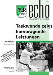 TVK Echo 1/2013 - Turnverein 1877 eV Essen-Kupferdreh