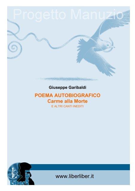 Poema Autobiografico Liber Liber