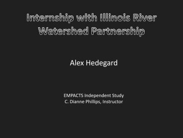Alex Hedegard - Faculty Web Pages