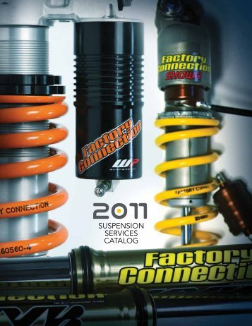 SUSPENSION SERVICES CATALOG - Factory Connection