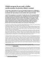 Ghidul european de prevenţie a bolilor cardiovasculare în practica ...