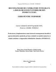recomandări de combatere integrată a bolilor si ... - pomosat