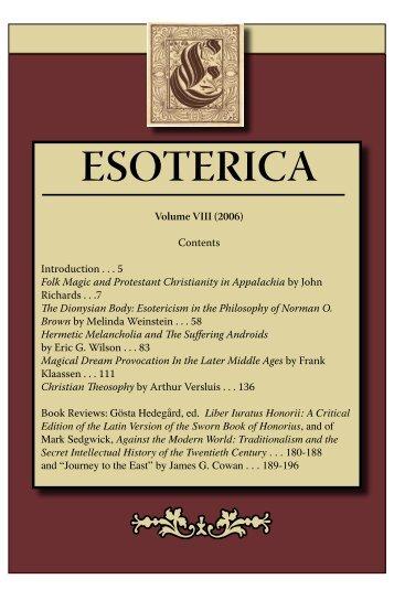 Download - Esoterica - Michigan State University