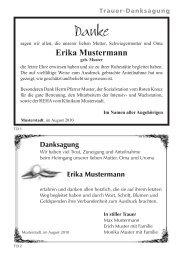 Erika Mustermann - Hansen Werbung