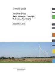 VVM-redegørelse September 2009 - Naturstyrelsen