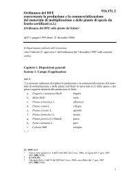 Ordinanza del DFE concernente la produzione e la ... - admin.ch