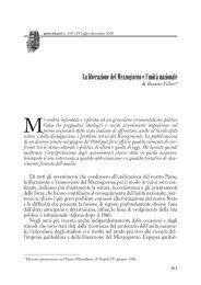 La liberazione del Mezzogiorno e l'unità nazionale - Consiglio ...