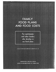 1962 Agriculture Department report - ASPE