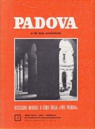 Scarica l'articolo in formato pdf - Comitato Mura di Padova