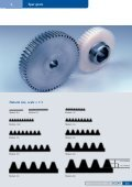 Spur gears steel, milled - Nozag AG - Page 7