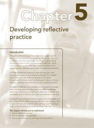 Developing reflective practice - Pearson Schools