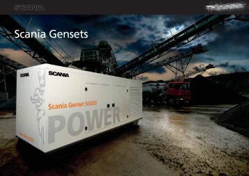 Scania Gensets