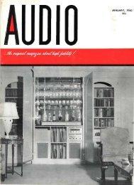 Audio Magazine January 1962 - Vintage Vacuum Audio