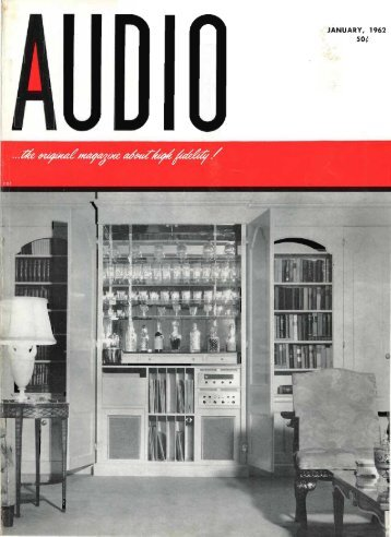 Audio Magazine January 1962 - Vintage Vacuum Audio
