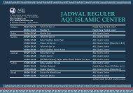 Download Jadwal Reguler AQL < Klik Disini > - Ar-Rahman Quranic ...