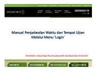 Manual Penjadwalan Waktu dan Tempat Ujian ... - CPA of Indonesia