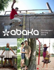 Printemps / Spring 2012 - Abaka