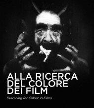 Alla ricerca del colore dei film.pdf - Cineteca di Bologna