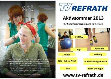 verbindliche kurs-anmeldung - TV Refrath