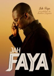 Lire le dossier de presse - JAH FAYA